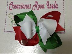 Moño tricolor mexicano 6 VIDEO No. 144. Pinzas Para El PeloAccesorios ... da1b1ea63a5