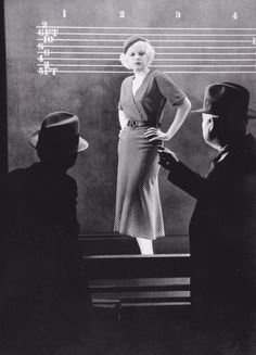 Jean Harlow in a production still from 'The Best of the City', directed by Charles Brabin, 1932. ☀