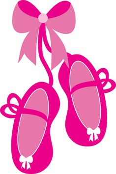 free clip art of pretty pink ballet shoes sweet clip art rh pinterest com ballet shoes clipart pictures ballet shoes clipart