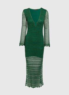 Vestido Longo Mary Tricot - bobo