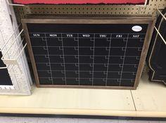 hobby lobby calendar chalkboard