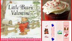 This Story Time includes crafts, science, and activities to go with the picture book Little Bear's Valentine by Else Holmelund Minarik. Bear Valentines, Story Time, Crafts, Food, English, Manualidades, Essen, Meals, Handmade Crafts