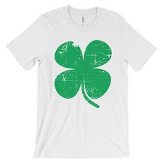 St. Patrick's Day Shamrock Unisex short sleeve t-shirt