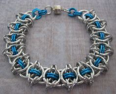 I just listed Sea Side Rendezvous Chainmaille Bracelet on The CraftStar @TheCraftStar #uniquegifts