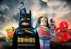 Justice League Lego version by WaveMusic47