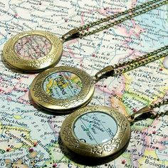 Must do for Scotland! CUSTOM Map Locket. You Select Location. Anywhere In The World. One Locket. Map Necklace. Map Jewelry. Personalize.