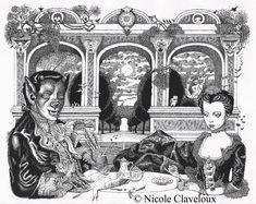 """""""La Belle et la Bête"""" by Nicole Claveloux"""