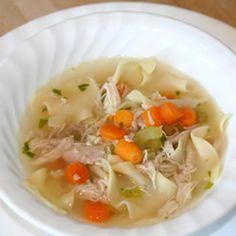 Awesome Chicken Noodle Soup Allrecipes.com