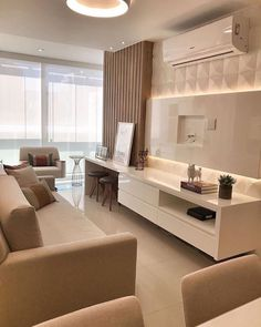 Living Room Wall Units, Living Room Tv Unit Designs, Home Living Room, Living Room Decor, Bedroom Closet Design, Home Room Design, Home Interior Design, Luxurious Bedrooms, Lounge