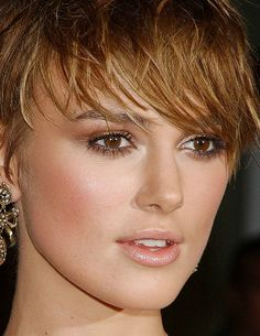 Keira Knightley, but only because Domino inspired me to get my hair cut short....