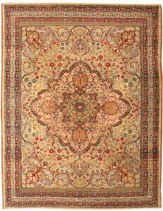 Antique Kerman Persian Rug 43384 Main Image - By Nazmiyal