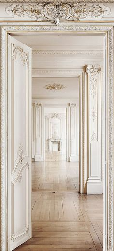 {décor inspiration | two lovely things : hand-painted & trompe-l'œil} by {this is glamorous}, via Flickr