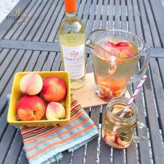 Refreshingly Delicious Stella Rosa Peach Sangria