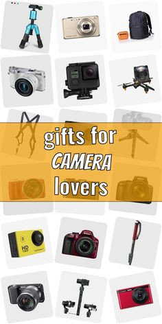 Are you looking for a present for a photograpy lover? Then you are right Checkout our ulimative list of presents for phtographers. We show you great gift ideas for photographers which are going to make them happy. Buying gifts for photographers doenst need to be hard. And dont necessarily have to be high-priced. #giftsforcameralovers