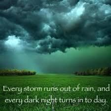 Gary Allen-  Every storm runs out of rain