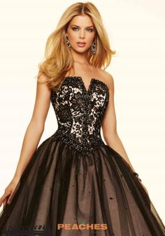 We know you love Morilee dresses as much as we do. Find your favorite one at Peaches Boutique in Chicago today. Quinceanera Dresses, Prom Dresses, Formal Dresses, Ball Skirt, Prom 2016, Mori Lee, Lace Applique, Strapless Dress Formal, Ball Gowns