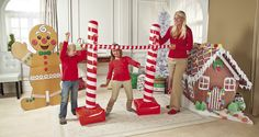 Gather your guests and see how low they can go at your next Christmas party! This Inflatable Candy Cane Limbo Kit will instantly make the holidays a lot more fun.
