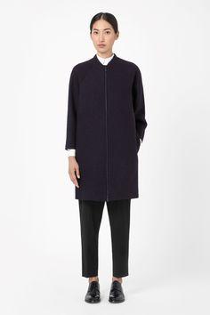 COS | Raw-cut wool coat