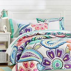Kennedy Paisley Quilt + Sham from PBteen. Saved to for my room. Shop more products from PBteen on Wanelo. Paisley Bedroom, Paisley Quilt, Paisley Color, Dorm Bedding, Quilt Bedding, Bed Quilts, Bed Tools, Girls Bedroom Furniture, Bedroom Ideas