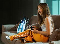 J!NX : Portal 2 Test Subject Womens Lounge Pants