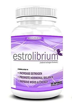 EstroLibrium Estrogen Pills for Women Female Hormone Balance Supplement