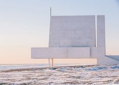 Beijing studio Vector Architects has built a concrete chapel on a Chinese beach