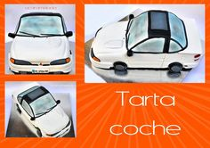 Acaramelada: TARTAS car cake, spain, Madrid