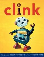 Clink was a state-of-the-art robot with the dazzling ability to make toast and music at the same time. But that was many years ago. Now kids want snazzier robots who do things like play baseball and bake cookies. So day after day, Clink sits on a shelf and sadly watches as his friends leave with their new owners. He almost gives up on ever finding a home--until the day Clink spies a boy who just might be able to be the right one for him.