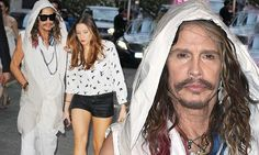 Steven Tyler out with MUCH younger rumoured girlfriend Aimee Preston