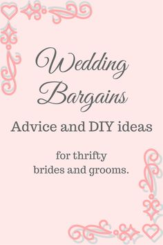 Join the Facebook group for brides and grooms to share wedding bargains, DIY ideas, budget saving tips and supplier recommendations. No sales or adverts, just brides and grooms sharing fantastic deals that they have spotted!