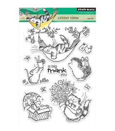 Penny Black T for Transparent Clear Stamps Critter Time