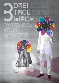 3 Tage/Nächte wach', an electronic music festival at Palais Club in Munich (©Eps51.com)
