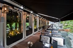 Seating Area of Terrace Bar & Restaurant