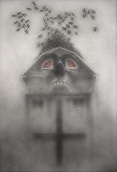 """MeatRoots on Twitter: """"Amityville.210603 Needs more flies and googly eyes 🤔 #mutantfam #HorrorFam #HorrorArt… """" Horror Art, Horror Movies, The Amityville Horror House, Googly Eyes, Painting & Drawing, Erotic, Concept Art, Rainbow, Twitter"""