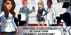 Kim Kardashian lancia un'app  Kim Kardashian una ne fa e cento ne pensa se ancora fresca sposina dopo le nozze italiane con Kanye West è già pronta per lanciare un'app molto personale. Si chiama Kim Kardashian Hollywood ed è nei fatti un gioco online appena lanciato dalla starlette americana. Come funziona? È semplice e sembra anche divertente. Bisogna scegliere l'outfit giusto per partecipare ai numerosi eventi del mondo hollywoodiano, fingendosi delle vere star.