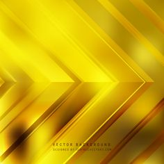 Abstract Yellow Arrow Background