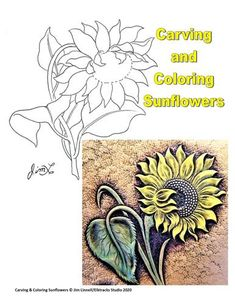 How To Make Leather, Leather Tooling Patterns, Flower Patterns, Craft Patterns, Leather Carving, Leather Craft, Free Pattern, Presents, Sunflowers