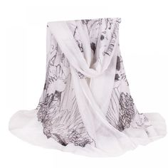 New Arrive Female Plus Size Polyester Shawl Women Skull Scarf Autumn Winter Style Shawls and Scarves Eagle Skull, Fashion Brands, Plus Fashion, Curvy Fashion, Fashion Accessories, Plus Size Stores, Plus Clothing, Skull Scarf, Lightweight Scarf