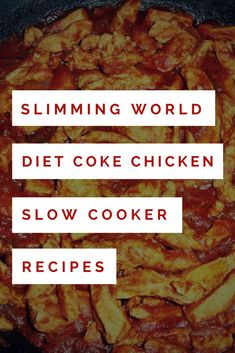 Slimming World diet coke chicken slow cooker recipes.You can find Slimming world recipes slow cooker and more on our website.Slimming World diet coke chicken slow cooker recipes. Slow Cooker Slimming World, Slimming World Dinners, Slimming World Recipes Syn Free, Slimming World Diet, Slow Cooker Huhn, Slow Cooker Chicken, Slow Cooker Recipes, Cooking Recipes, Chicken Curry