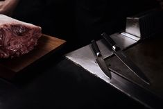Single bevel blades of Japanese Honshu Steel that are made to conquer #Kamikoto