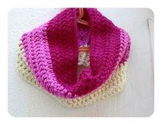 Moderna bufanda de ganchillo. / PunTo al RevEs - Artesanio
