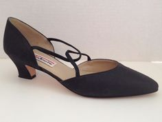 Talbots Shoes Womens Size 9.5 M Heels Black 9 1/2 Spain #Talbots #Strappy #SpecialOccasion