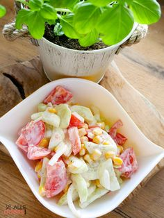 Pasta Salad, Lunch, Ethnic Recipes, Food, Crab Pasta Salad, Eat Lunch, Essen, Meals, Lunches