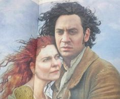 Windswept: While TV viewers swooned over Aidan Turner's Poldark, Ed Miliband has consisten...