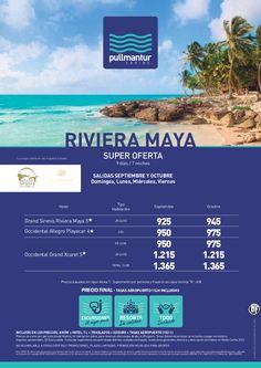 Super Oferta Riviera Maya Cadena Occidental y Sirenis Sept y Oct - http://zocotours.com/super-oferta-riviera-maya-cadena-occidental-y-sirenis-sept-y-oct/