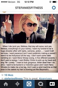 This is awesome. RIP #joanrivers