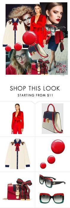 """""""Specially for Elvira 🌷"""" by yuliaexe ❤ liked on Polyvore featuring Givenchy, Gucci and Topshop"""