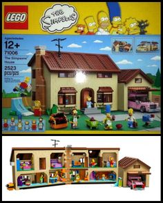 The new Simpsons #LEGO kit looks dope!