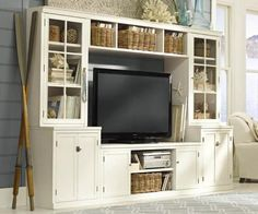 Now that's a nice looking entertainment center.