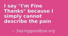 Baby Loss -Twitter: @SayinggoodbyeUK -www.facebook.com/SayinggoodbyeUK - www.sayinggoodbye.org